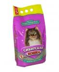 Сибирская кошка  Экстра (комкующ) 5 л