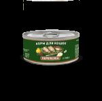 Solid Natura Holistic Перепелка влажный корм для кошек  0,1 кг