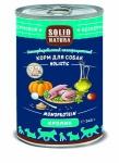 Solid Natura Holistic Кролик влажный корм для собак 0,34 кг   45