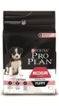 PRO PLAN MEDIUM PUPPY SENSITIVE SKIN с лососем и рисом 1,5 кг