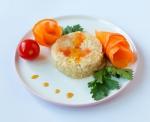 Нежнейшее мясо цыпленка со спелыми овощами в желе 0,08 кг
