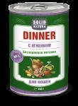 Solid Natura Dinner Ягненок влажный корм для кошек 0,34 кг   452