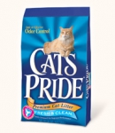 CAT'S PRIDE FRESH & CLEAN 13,6 кг (30л)