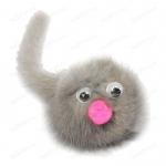 GoSi Зверек из норки дразнилка для кошек разноцветный