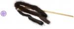 GoSi Махалка Норковая пальма на веревке дразнилка для кошек дере