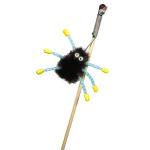 GoSi Махалка Норковый паук  на веревке дразнилка для кошек дерев