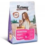 KARMY д/кошек Сенситив Индейка 0,4кг