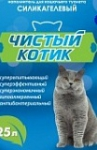 """Наполнитель силикагелевый """"Чистый котик"""" 25 л (10 кг)"""