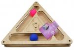 Игровой комплекс Треугольник с шариками